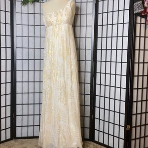 Aqua Dresses Empire Style Evening Long Dress Sz 2